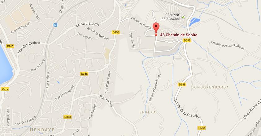 43 Chemin de Sopite 64700 - Hendaye