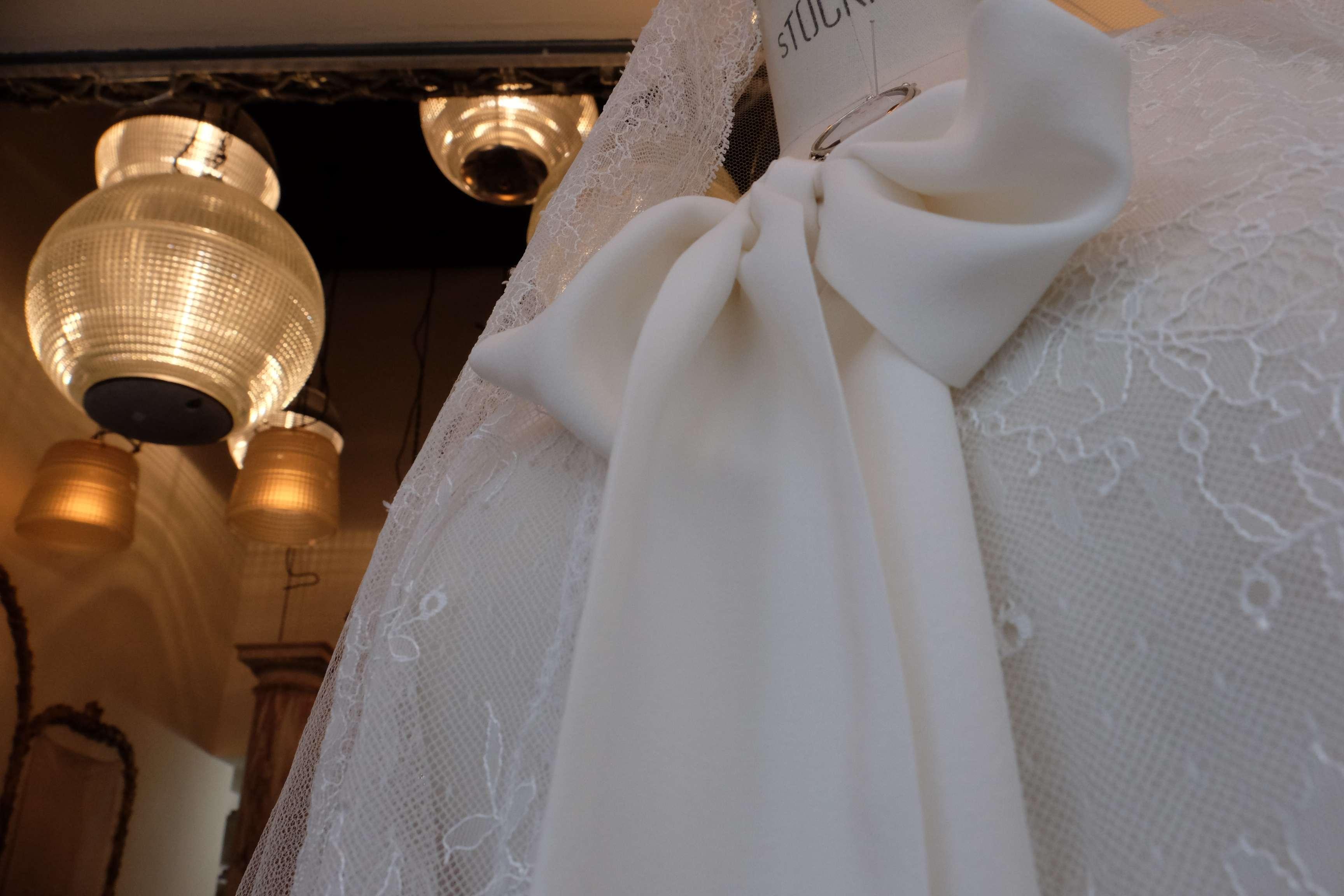 vitrine robe de mariée