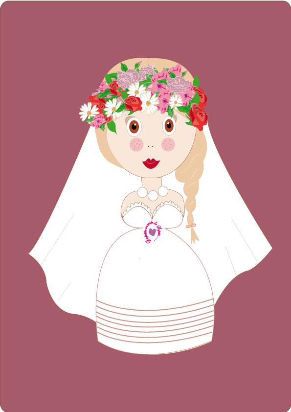 "Logo de  ""La petite mariée de sopite"""