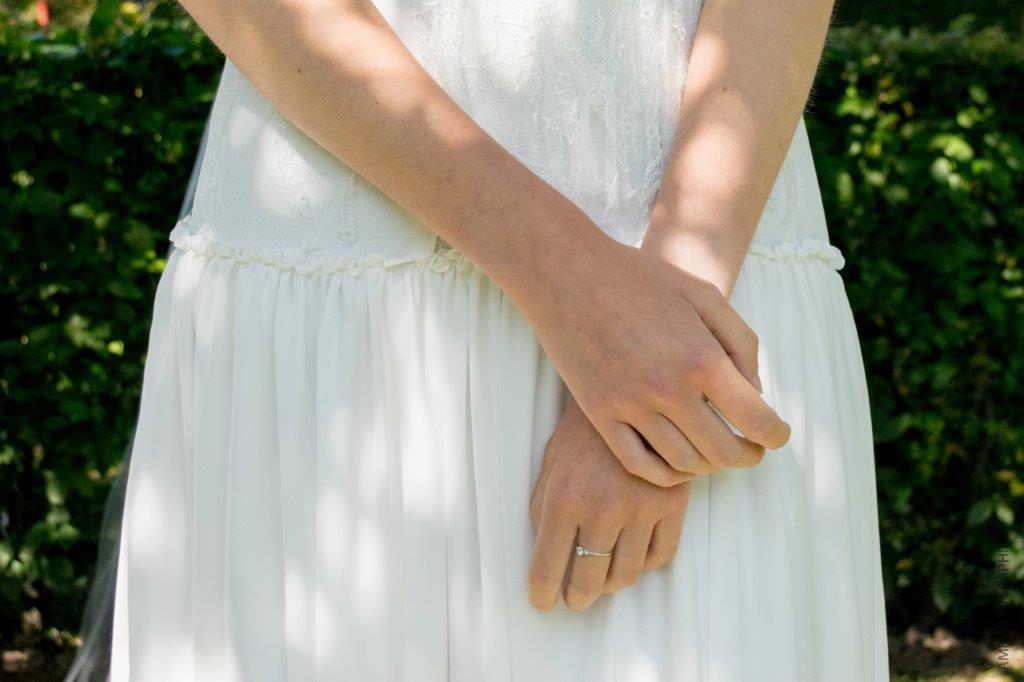 robe de mariée complexée