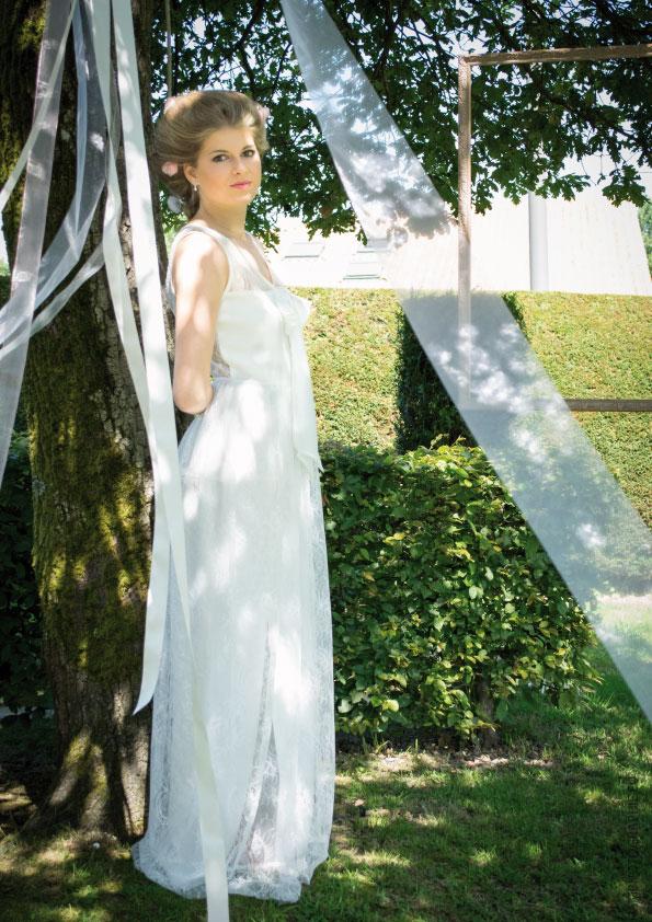 Robe Valentine par la petite mariée de sopite
