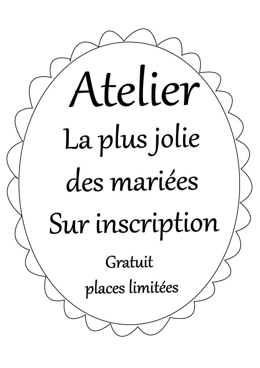 Atelier La plus jolie des mariées by La petite mariée de sopite