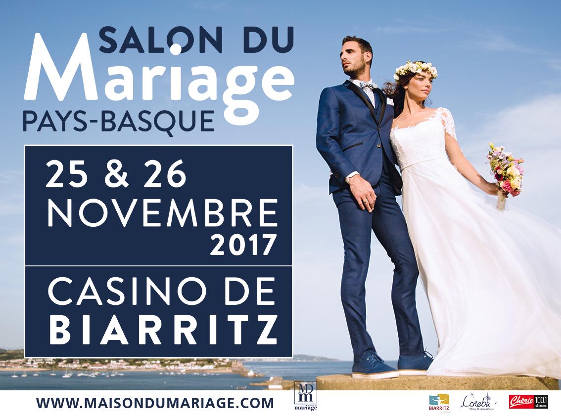 affiche salon mariage biarritz