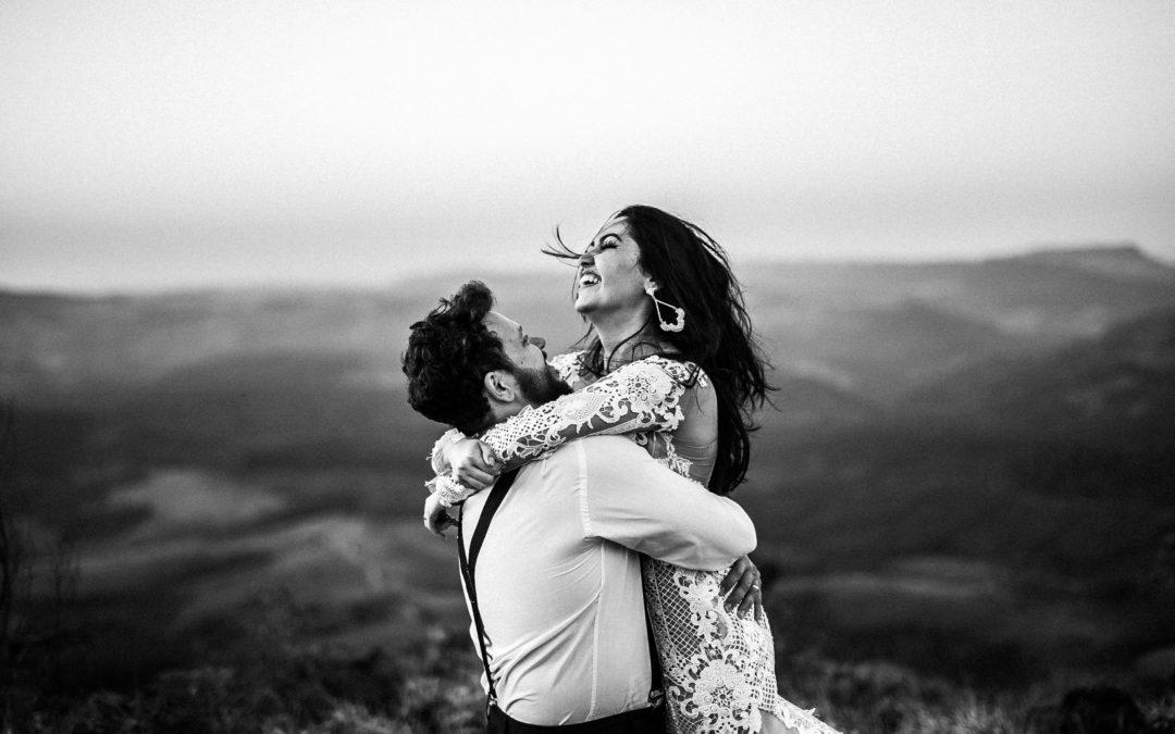 mariée joyeuse